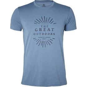 North Bend Vertical Miehet Lyhythihainen paita , sininen